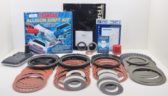 01-03 ALLISON Stage 2 Master Rebuild Kit W/ Pistons